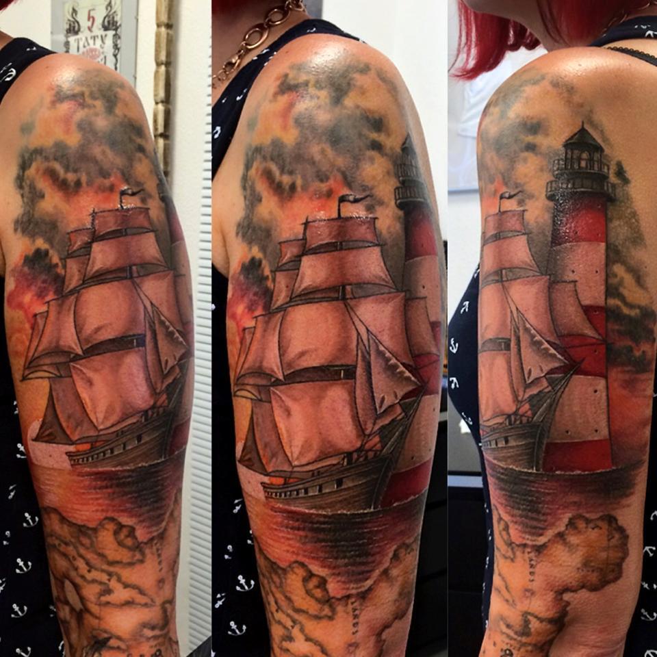 bunte arm tattoos free celtic halbarm tattoo fr mnner. Black Bedroom Furniture Sets. Home Design Ideas