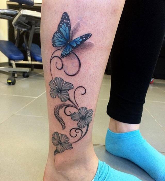 Jodis Blumen Phoenix Tattoo
