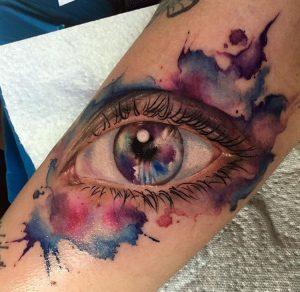 Watercolour Auge