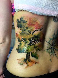 Watercolour Baum